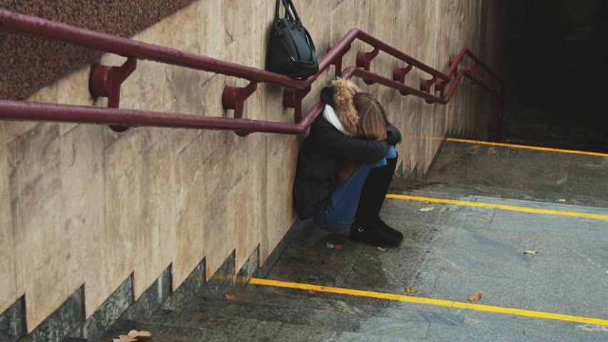 Výsledek obrázku pro girl on the stairs