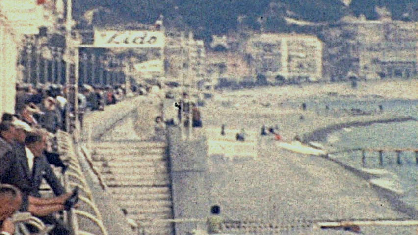 NICE - 1960: the waterfront in 1960 in Nice #24044353