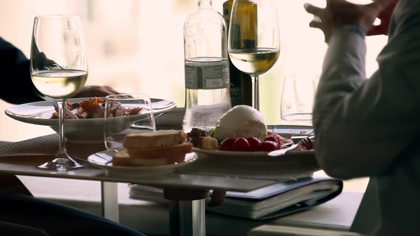 Italian lunch | Shutterstock HD Video #2404538