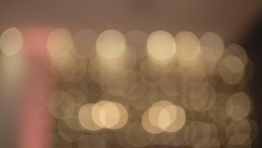 Bookeh blur effect with tilt motion.