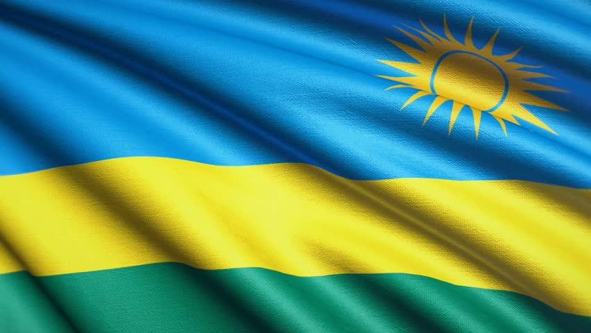 Rwanda Flag Stock Footage Video Shutterstock - Rwanda flag