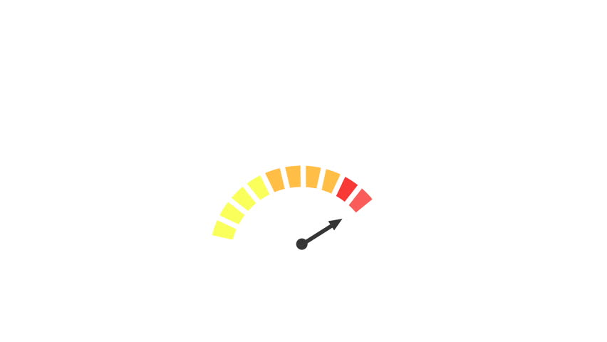 Motion graphics video of an indicator | Shutterstock HD Video #24205423