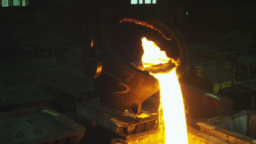 Molten iron