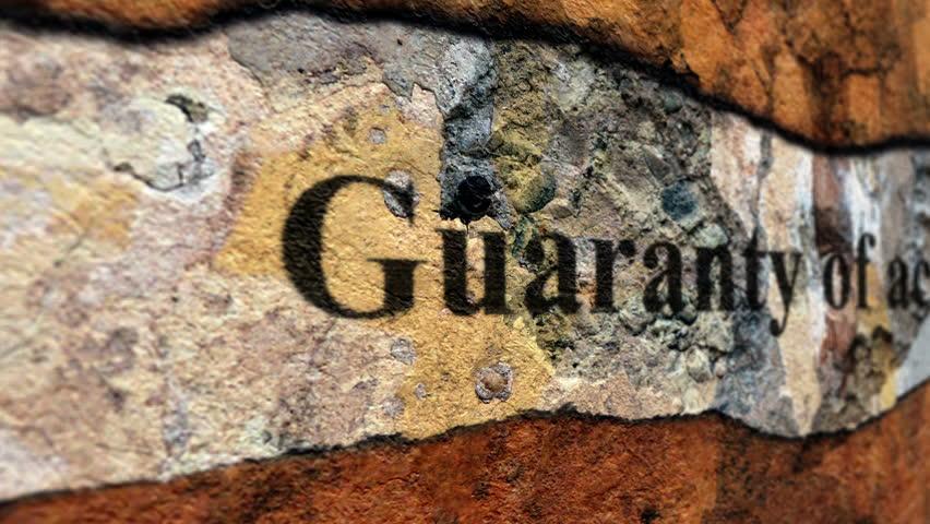 Header of guaranty