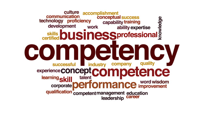 Header of competency