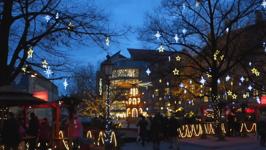 Christmas In Munich Germany.Christmas Market In Munich On Stock Footage Video 100 Royalty Free 24338993 Shutterstock