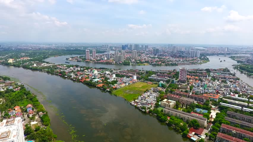 The Best River city in VietNam Sai Gon - Ho Chi Minh City is the economic center of Vietnam and accounts for a large proportion of the economy of Vietnam .