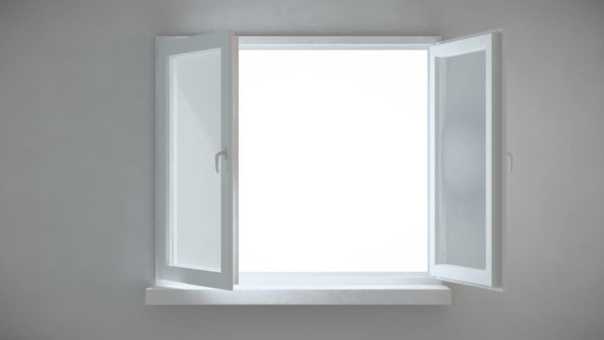An interior view of an opening window | Shutterstock HD Video #2439503