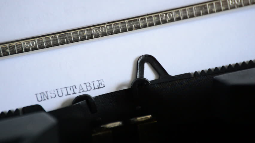 Header of unsuitable