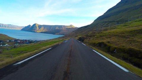 Road tripe in the Faroe Islands