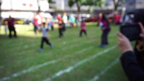 fuzzy recording children's sports