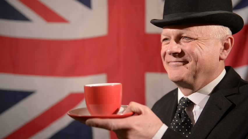 Image result for image of a person smiling British gentleman