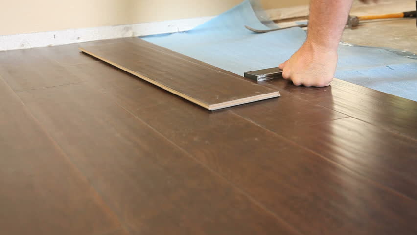 Can laminate flooring be installed over ceramic tile