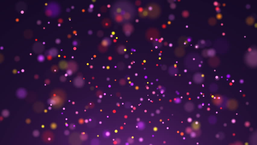 Purple Abstract Background, Gold Particles, Loop Stock Footage Video 12083126 | Shutterstock