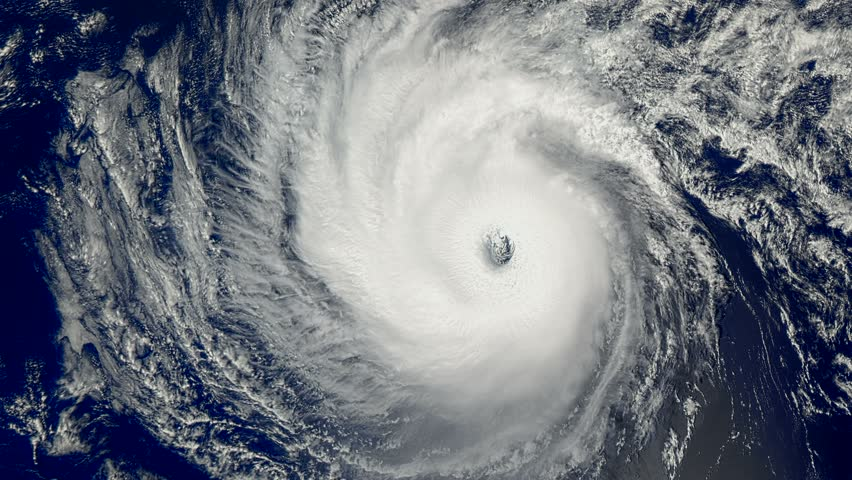 Hurricane ALEX - January 14, 2016 - a hurricane with wind speeds of 110 miles  per hour; was located about 1,200 kilometers east of Hilo NASA's Aqua satellite captured this image. UltraHD 3840 x 2160