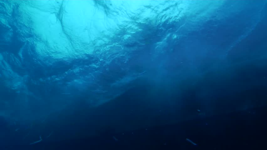 Ocean scenery entry underwater in Could be anywhere | Shutterstock HD Video #2489273