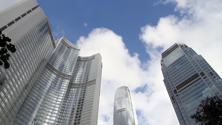 Skyscraper in Hong Kong | Shutterstock HD Video #2493902