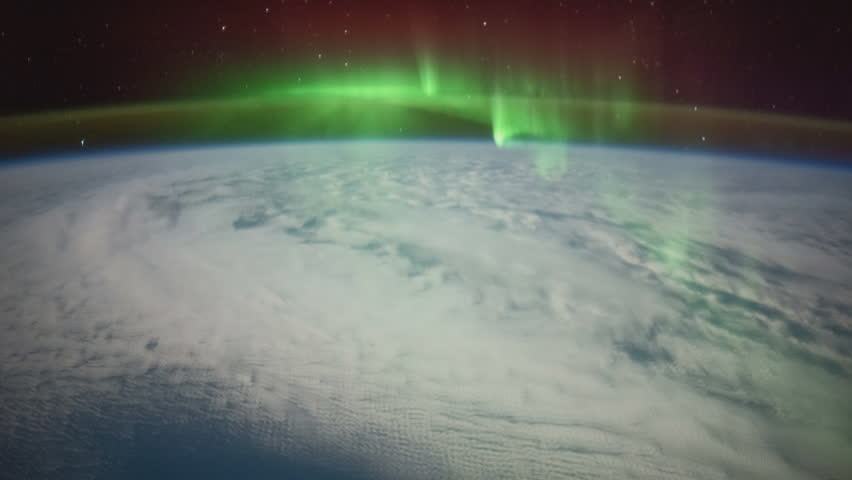 International Space Station ISS Aurora Australis Across Pacific Ocean, Time Lapse 4K. Created from Public Domain images, courtesy of NASA Johnson Space Center : http://eol.jsc.nasa.gov