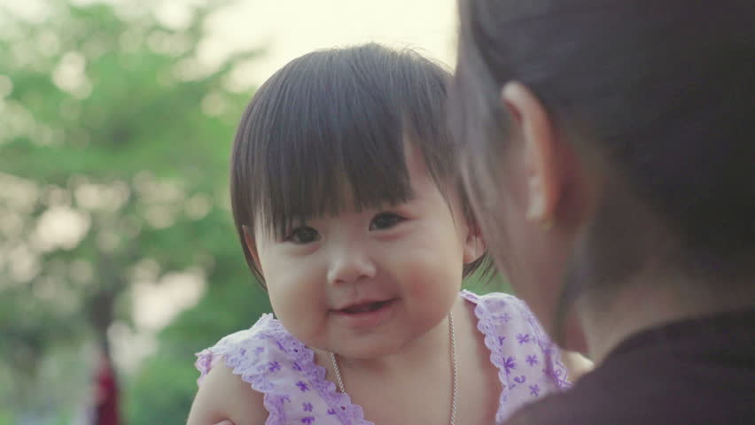 e1c9c0dac83b Portrait of Happy Seven-month-old Baby Stock Footage Video (100 ...