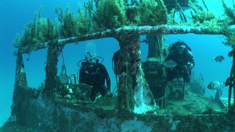 ship wreck shipwreck underwater scuba divers