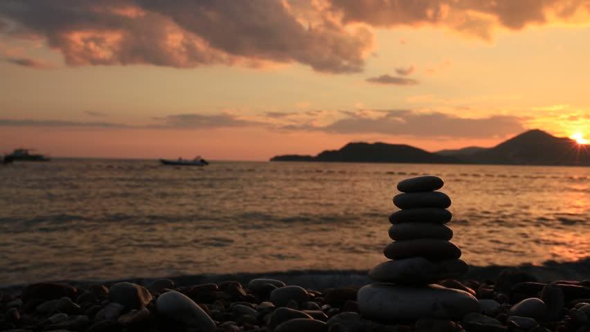 beach hdr stones harmony - photo #19