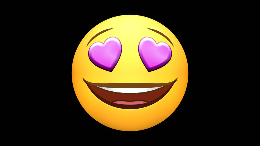 Emojis. Happy, love, laugh, ROFL, neutral, wow. (Note: 4K version has alpha channel - see clip 25627712 for HD version with alpha.) Several options of loop-able sections, or pausing the action. | Shutterstock HD Video #25351223