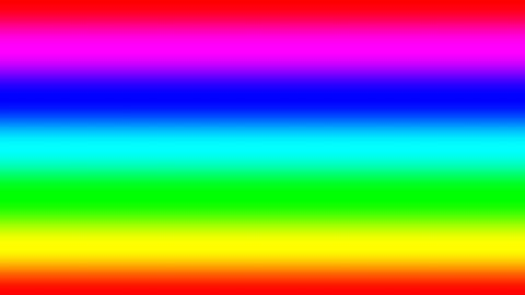Rainbow spectral gradient moving quickly down, seamless loop