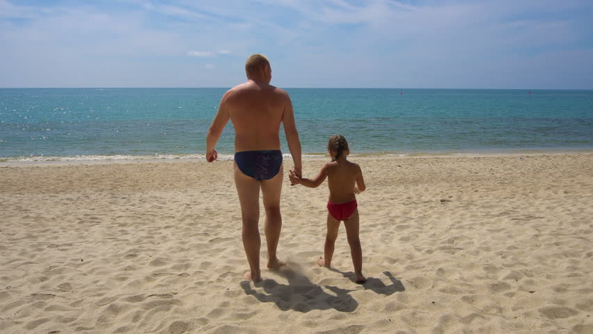 Opinion Dad with daughter walking excellent question