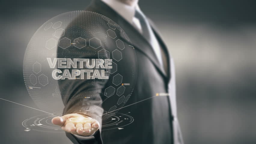 Venture Capital with hologram businessman concept | Shutterstock HD Video #25525373