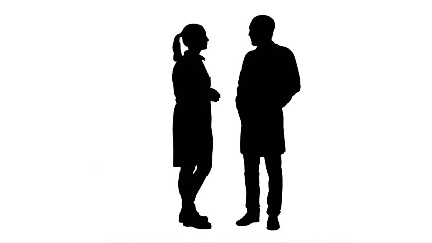 People Standing Side Silhouette   www.pixshark.com ...