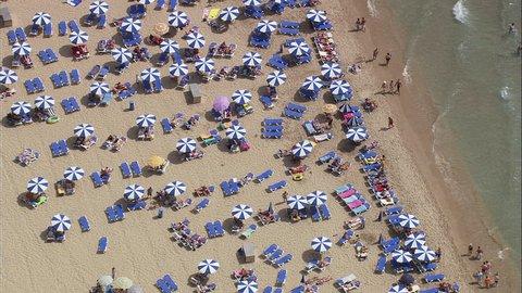 Benidorm Beach Spain, Alicante-2007