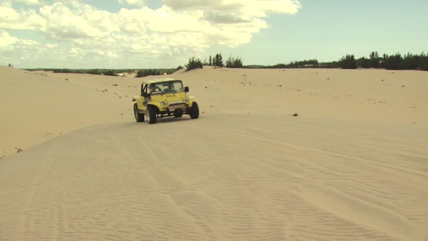 Dune Buggy On the Sand Stock Footage Video (100% Royalty-free) 2560433 |  Shutterstock