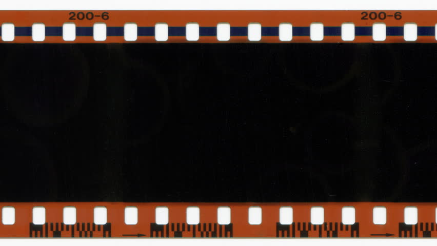 Animated Film Strip Overlay (with Green Screen) Stock ...