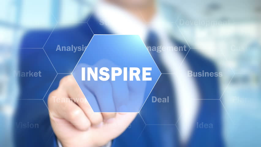 Inspire, Businessman working on holographic interface, Motion Graphics | Shutterstock HD Video #25761383