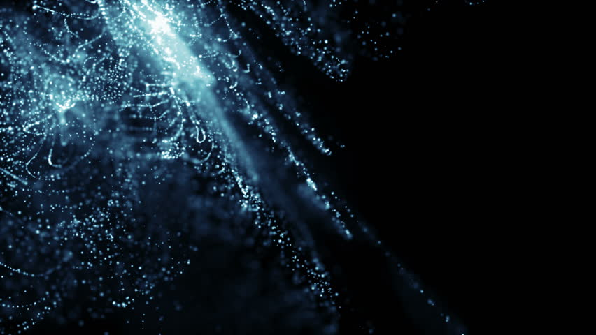 Particles dust abstract light motion titles cinematic background loop | Shutterstock HD Video #25820018