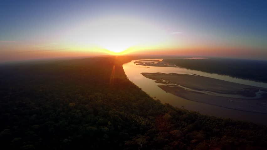 Aerial Shot Of Amazon Rainforest   Shutterstock HD Video #25928933