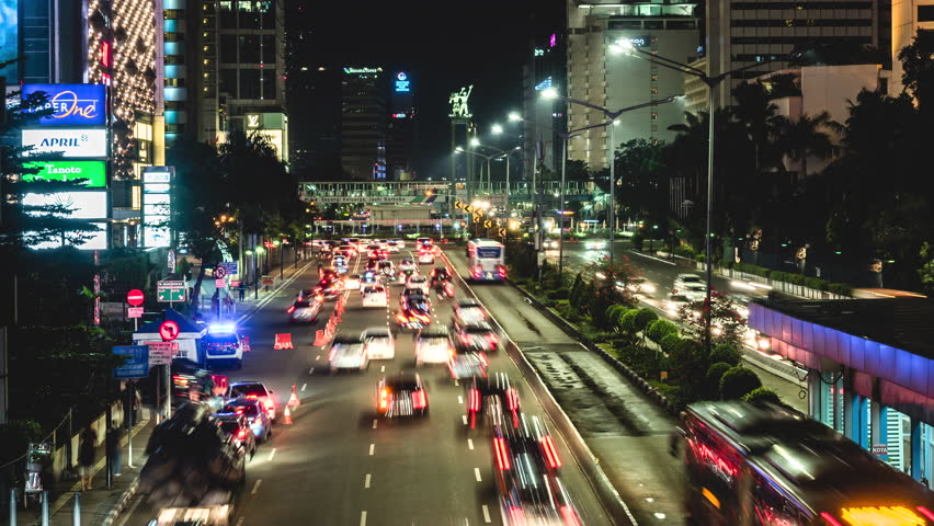 Image result for jakarta view with traffic