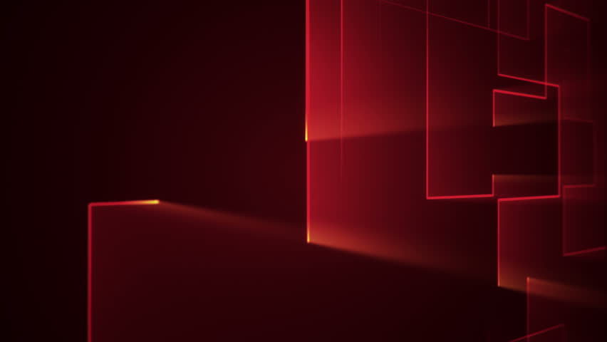 Abstract technologic background with stripes and particles. Animation of circuit electric signal with light shine. Animation of seamless loop. | Shutterstock HD Video #26044703