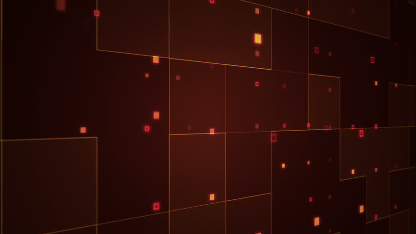 4K Abstract Animation Grid Glossy Background, Geometry Surfaces ...