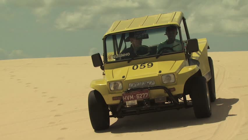 SAND DUNES, BRAZIL - CIRCA 2010: Dune Buggy on the Sand