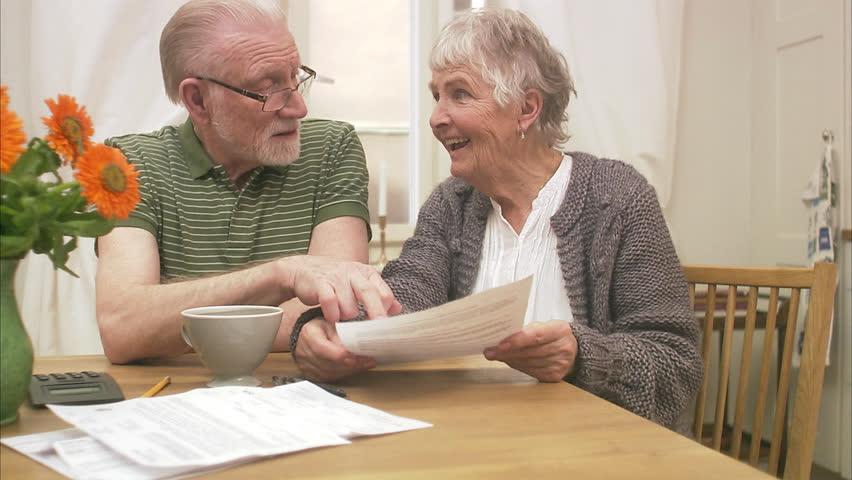 An elderly couple at home | Shutterstock HD Video #2614973