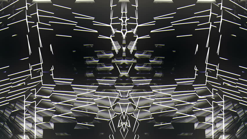 Glitch white lines  Club VIsuals VJ Loop | Shutterstock HD Video #26397623