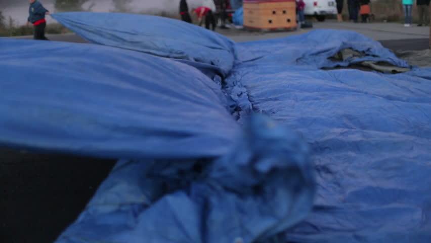 Header of tarp