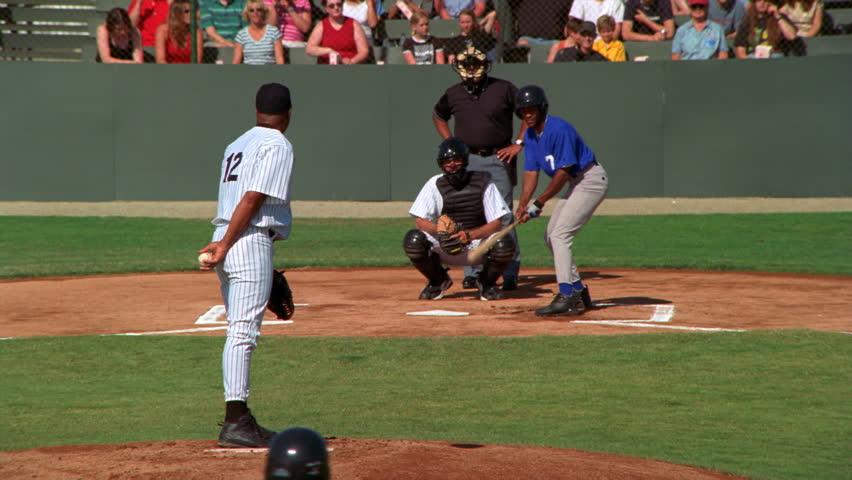 Pitcher pitching a walk at a ball game | Shutterstock HD Video #26501402