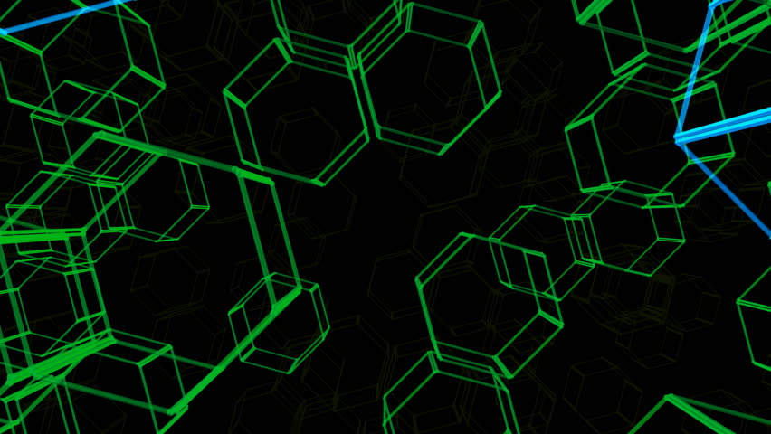 Hexagon Chemical images. | Shutterstock HD Video #2655413