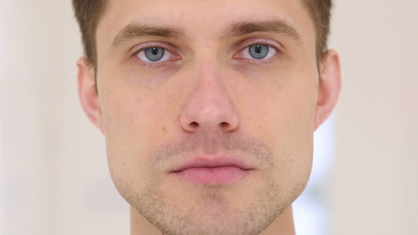 Young Man in Shock, Face Close Up | Shutterstock HD Video #26710864