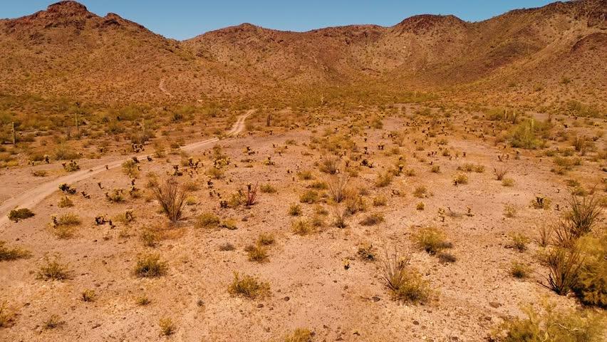 Desert hills. Arizona. Aerial / Drone shot
