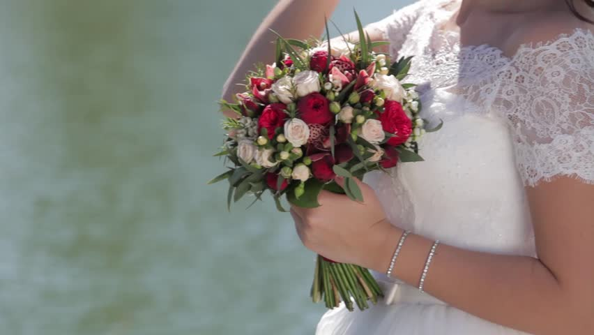 Bride's bouquet | Shutterstock HD Video #26798314