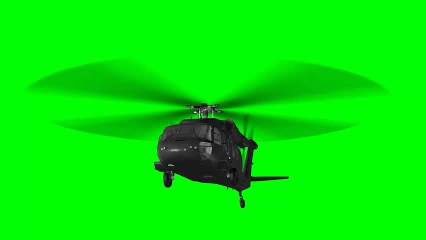 Thanos Home Green Screen Hd 60 Fps: Military Helicopter UH-60 Black Hawk Realistic 3d