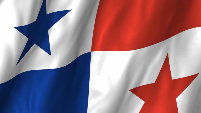 A Beautiful Satin Finish Looping Flag Animation Of Panama A Fully - Panama flags